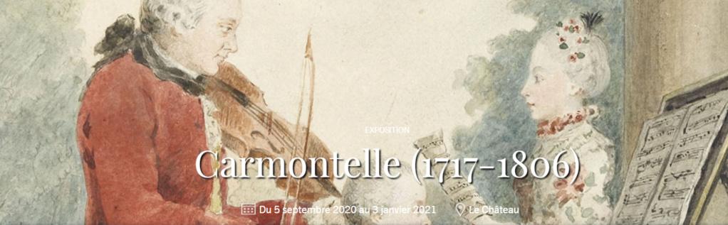 Exposition CARMONTELLE ou la douceur de vivre à Chantilly ! Captu834