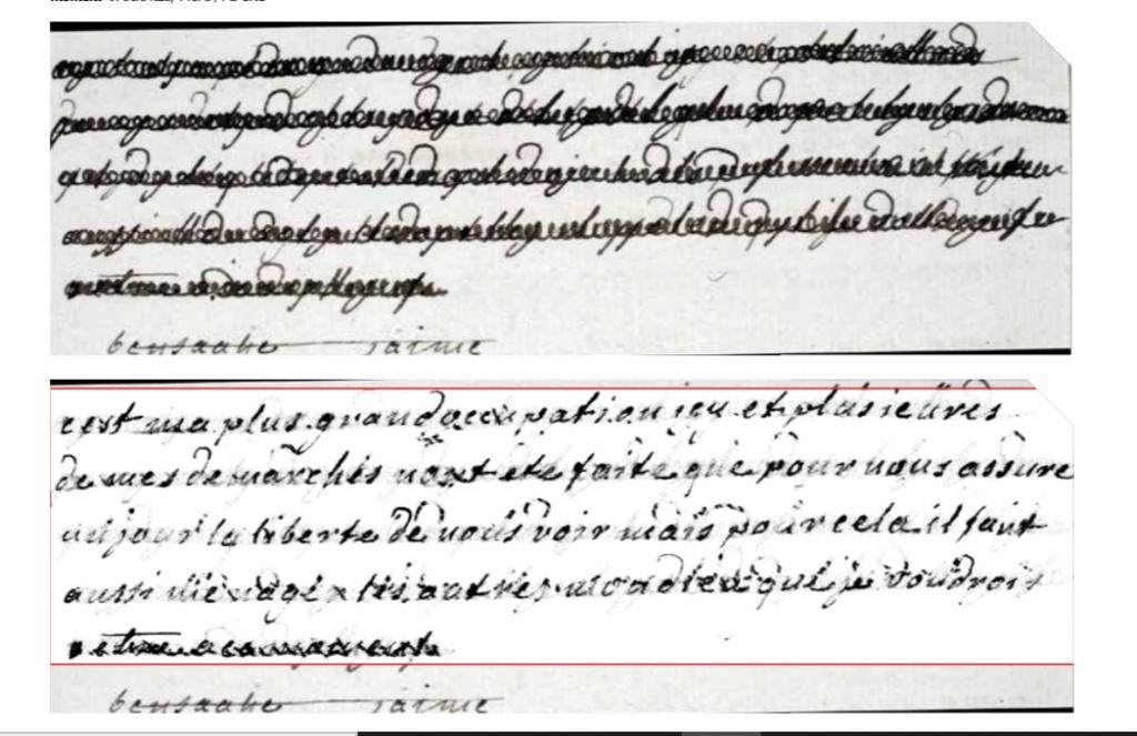 La correspondance de Marie-Antoinette et Fersen : lettres, lettres chiffrées et mots raturés - Page 26 Captu843