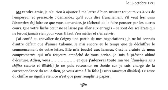 Evelyne Lever Fersen - D'Evelyne Lever, Le grand amour de Marie-Antoinette, lettres secrètes de la reine et du comte de Fersen Captu846