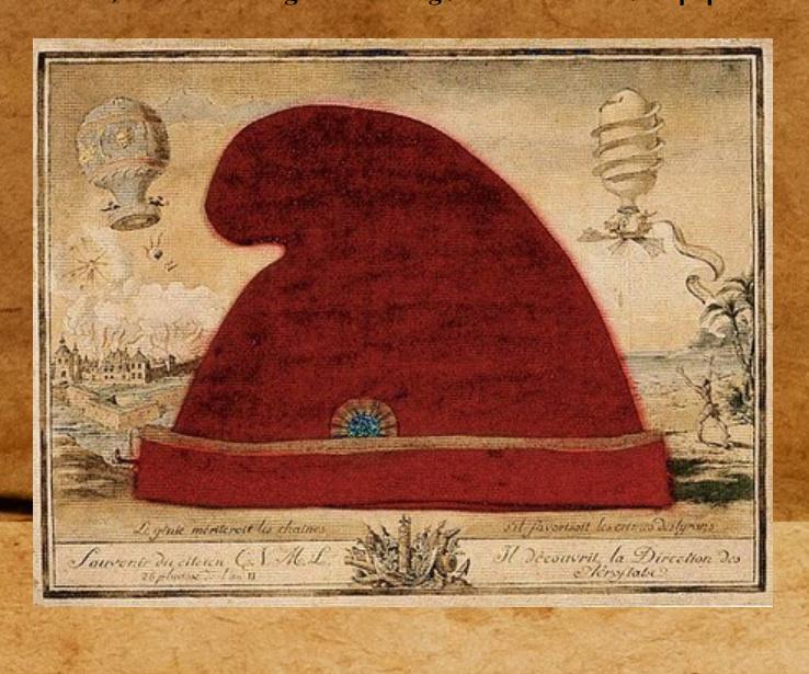 Le bonnet phrygien de la Révolution française Captur19