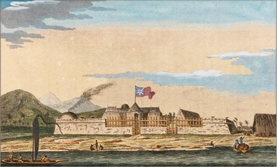 Le transit de Vénus,   en juin 1769 Captur44