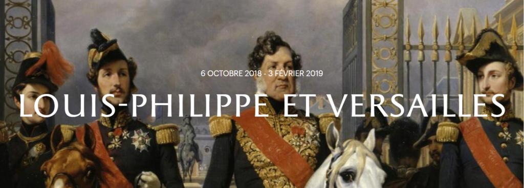 Exposition au Château : « Louis-Philippe et Versailles » octobre 2018 Captur53