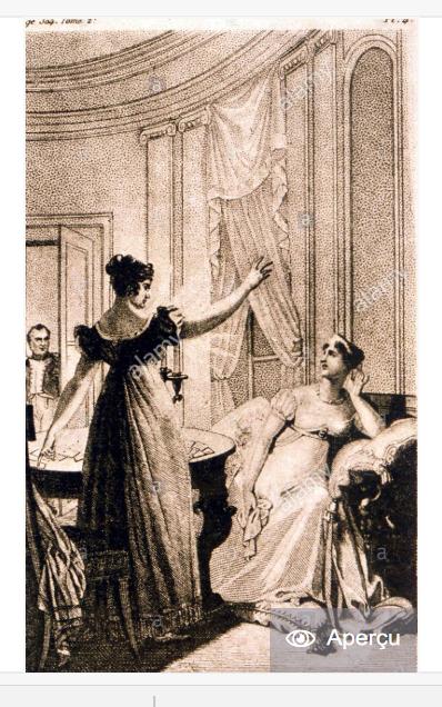 Voyance et superstitions,  Mademoiselle Lenormand  (1772 - 1843) Captur77