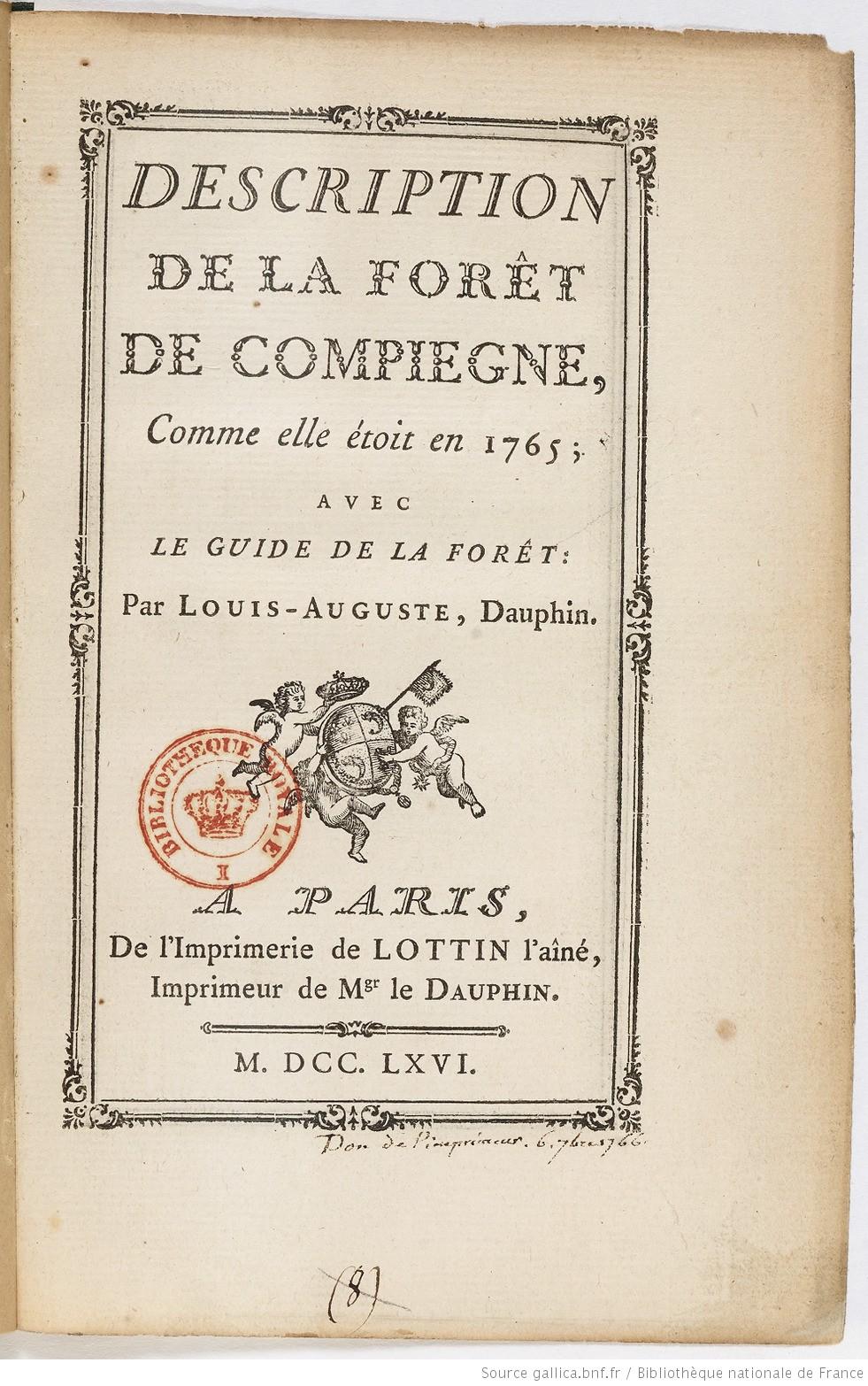 Le château de Compiègne - Page 5 Descri11