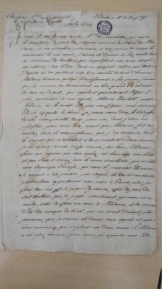 Lettre de Mme de Raigecourt à Madame Royale Dsc_1410