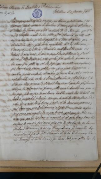 Lettre de la marquise de Bombelles à Mme de Soucy Dsc_1412