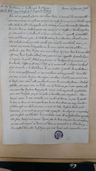 Lettres de Louis XVIII  à Madame Royale Dsc_1532