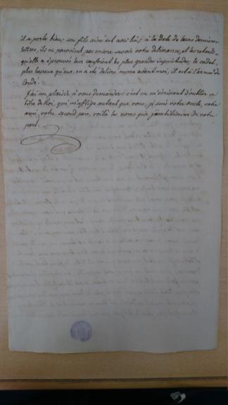 Lettres de Louis XVIII  à Madame Royale Dsc_1533