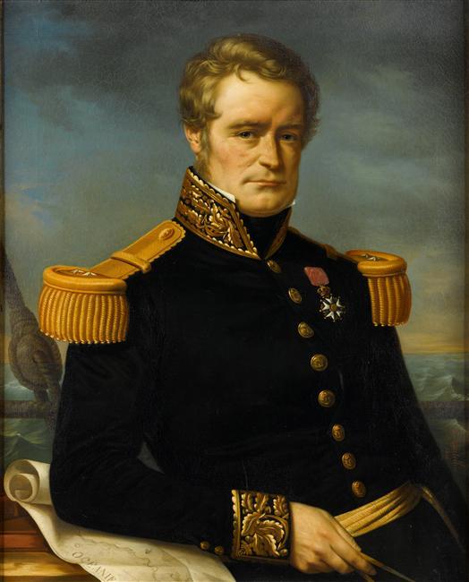 L'amiral Jules Dumont d'Urville ( 1790 - 1842  )  Dumont10