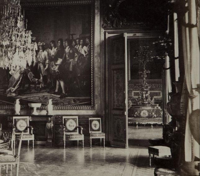 Exposition :  Les derniers feux du palais de Saint-Cloud Eemz5q11