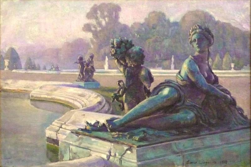 Einar et Gerda Wegener à Versailles Einar_10