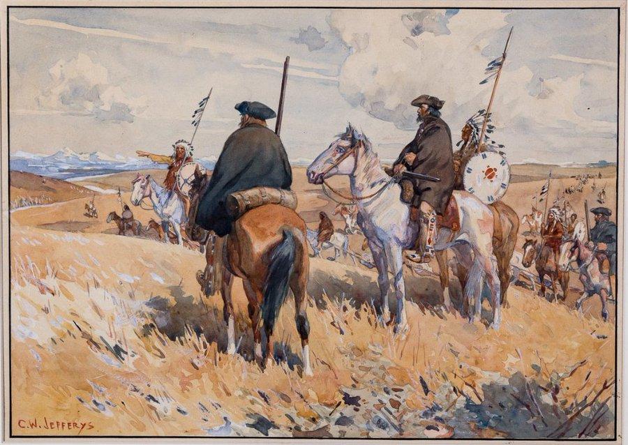 Explorateurs de la Nouvelle France, ces messieurs de la Vérendrye ... Eovosn10