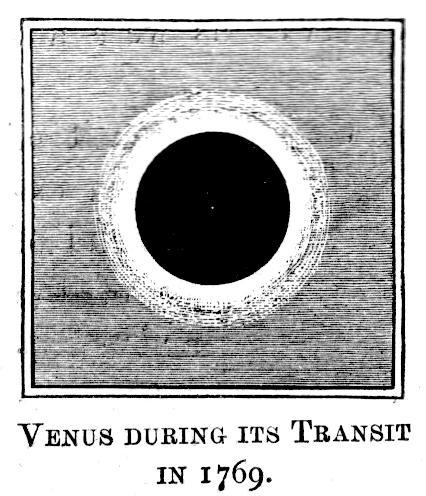 Le transit de Vénus,   en juin 1769 Fig10010