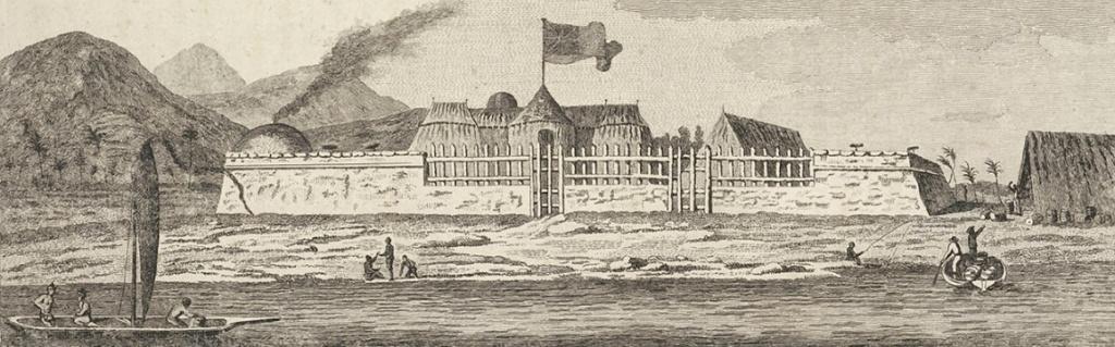 Le transit de Vénus,   en juin 1769 Fort-v10