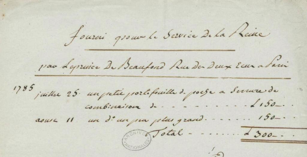 Portefeuilles aux armes de Marie-Antoinette, dauphine. Fran_010