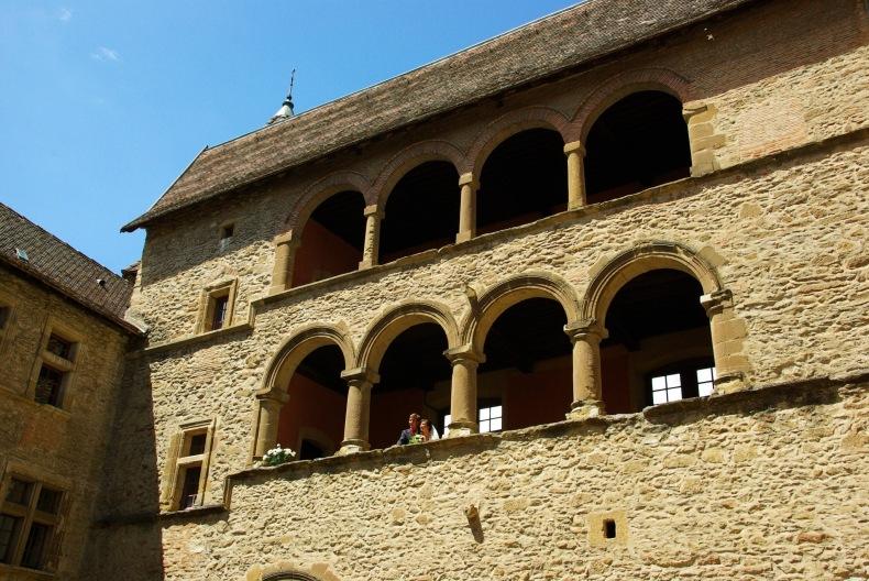 A 30 km au sud de Lyon,  le château de Septème Guilla10