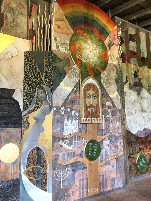 Saint-Emilion, la Fresque de l'Apocalypse Img_3210