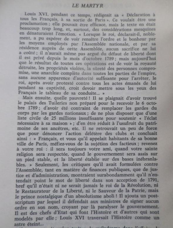 Déclaration de Louis XVI à tous les Français à sa sortie de Paris 20 juin 1791 Imgp0146