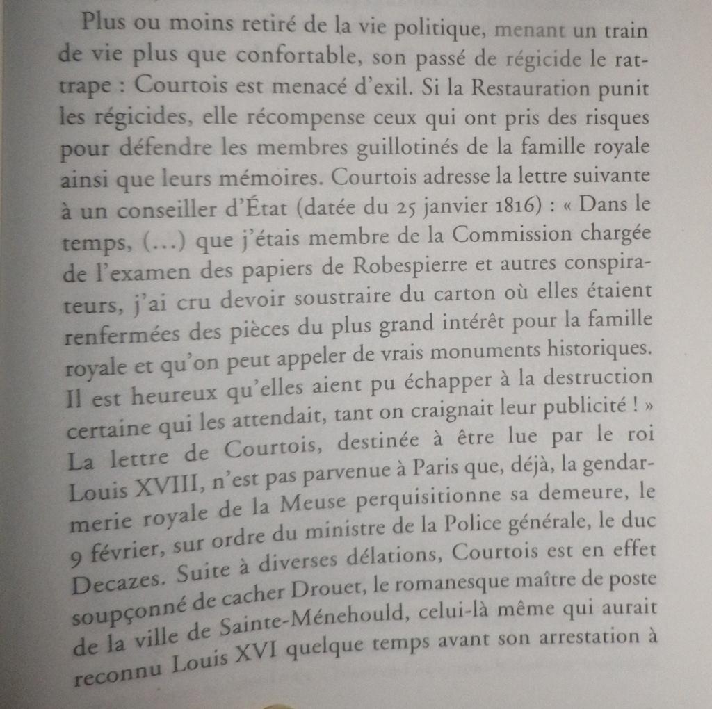 Testament / Lettre de Marie-Antoinette à Madame Elisabeth, le 16 octobre 1793 - Page 3 Imgp0415