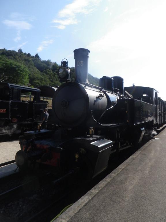 """Le """" Mastrou """" , petit train historique de l'Ardèche Imgp0418"""