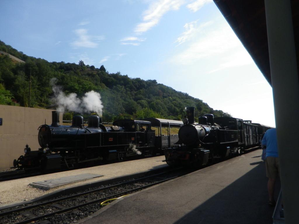"""Le """" Mastrou """" , petit train historique de l'Ardèche Imgp0419"""