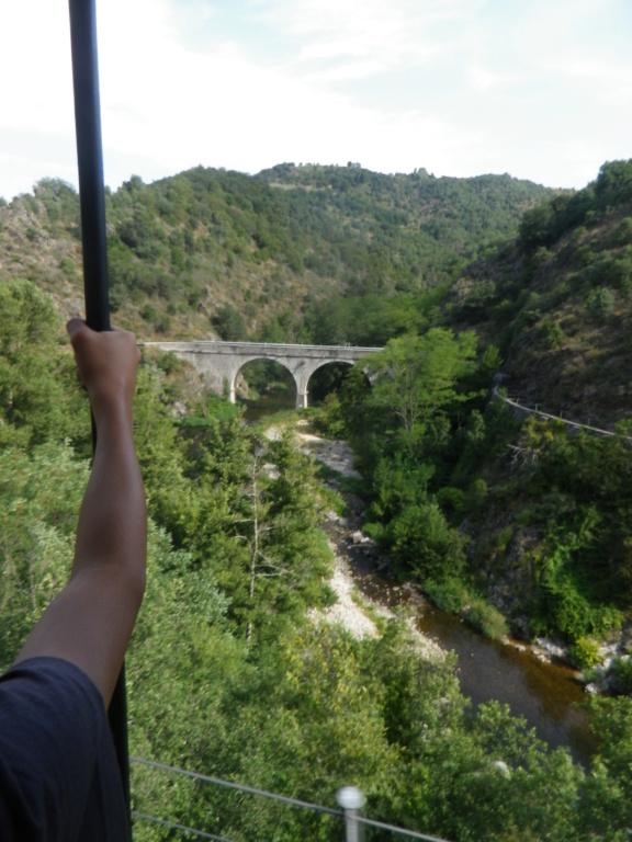 """Le """" Mastrou """" , petit train historique de l'Ardèche Imgp0424"""