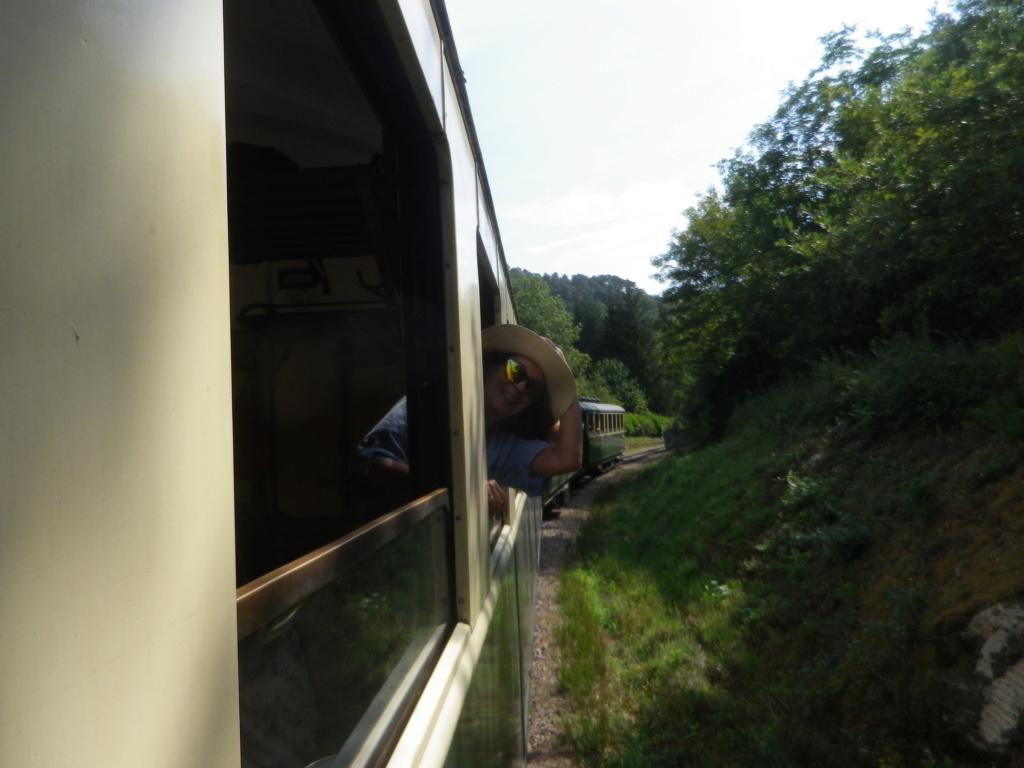 """Le """" Mastrou """" , petit train historique de l'Ardèche Imgp0434"""