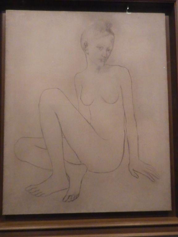 Exposition : Picasso Bleu et rose, à Orsay Imgp0525