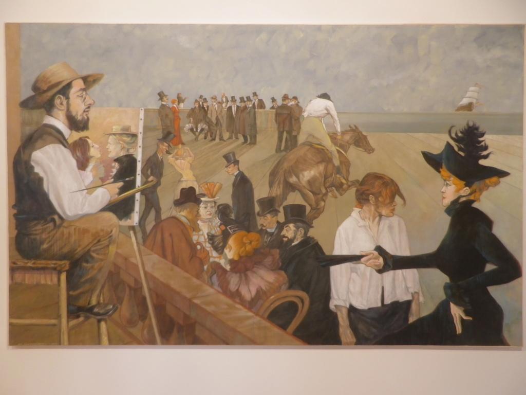 Une exposition du peintre  Pierre Chaveau Imgp0789