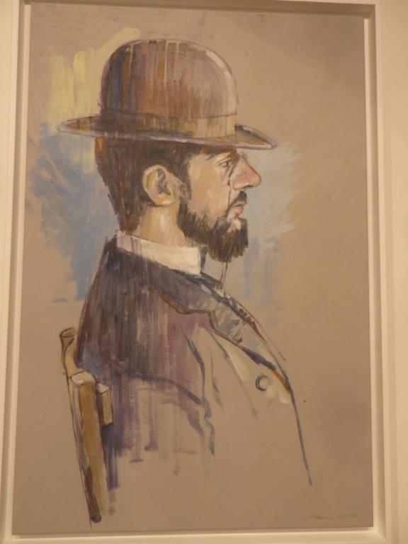 Une exposition du peintre  Pierre Chaveau Imgp0790