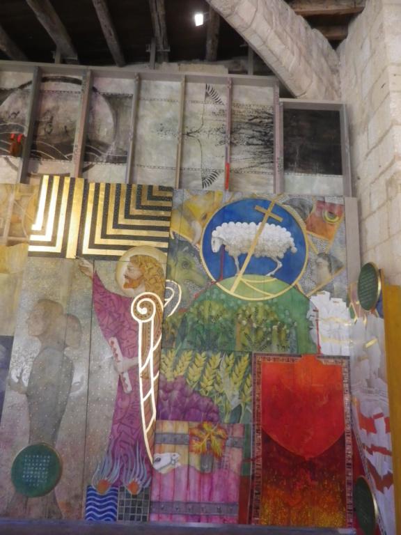 Saint-Emilion, la Fresque de l'Apocalypse Imgp0799