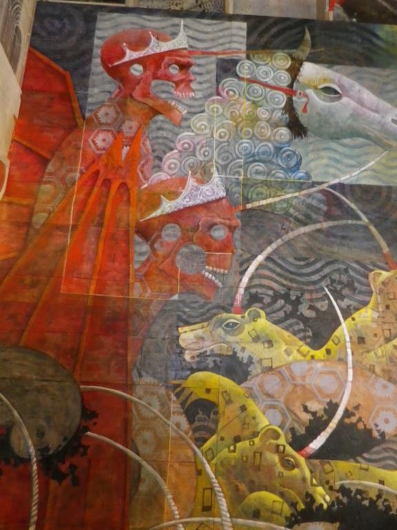 Saint-Emilion, la Fresque de l'Apocalypse Imgp0807