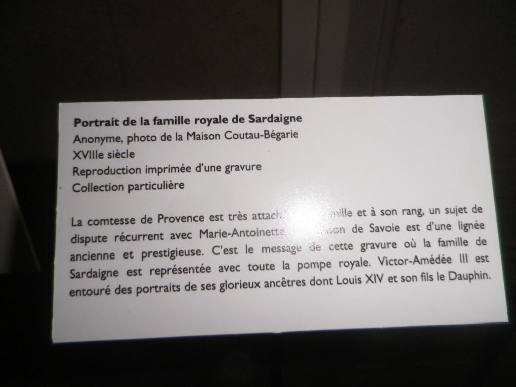 Exposition « L'anti Marie-Antoinette : Marie-Joséphine Louise de Savoie » à la chapelle expiatoire Imgp1297