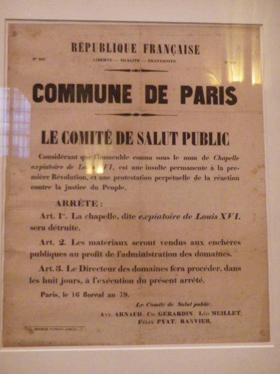 La Chapelle Expiatoire du square Louis XVI, à Paris - Page 2 Imgp1748