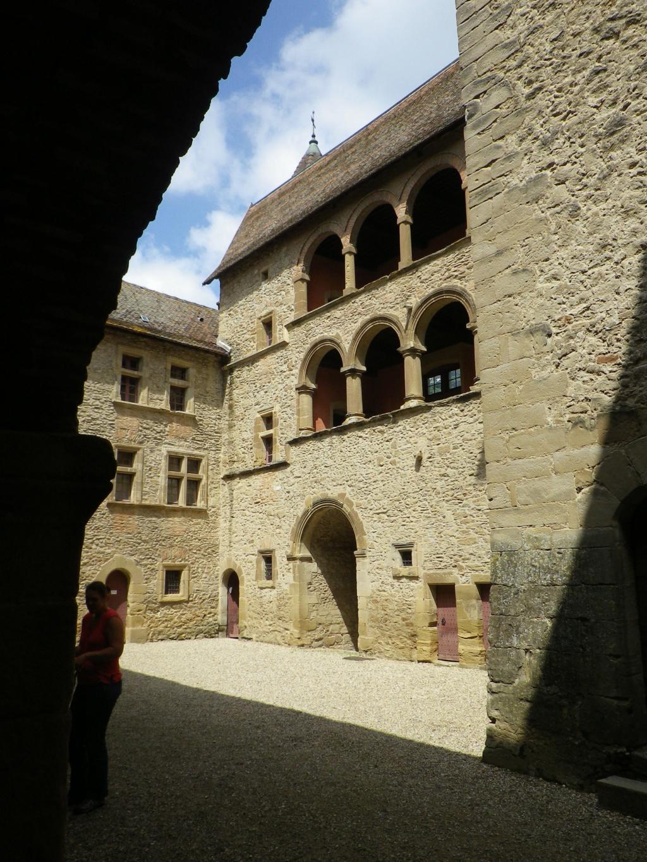 A 30 km au sud de Lyon,  le château de Septème Imgp2653