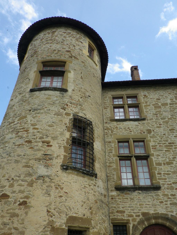 A 30 km au sud de Lyon,  le château de Septème Imgp2657