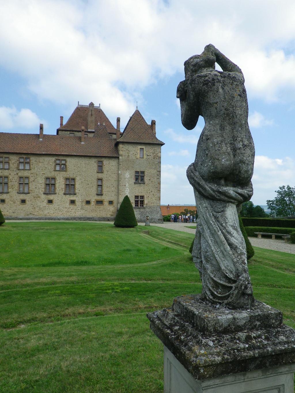 A 30 km au sud de Lyon,  le château de Septème Imgp2661