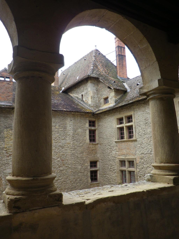 A 30 km au sud de Lyon,  le château de Septème Imgp2667