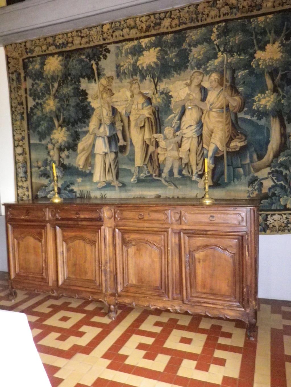 A 30 km au sud de Lyon,  le château de Septème Imgp2697