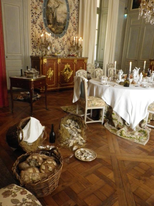 Le parc à huîtres de Marie-Antoinette, à Etretat.  Coquillages et coquilles au château de Versailles Imgp2975