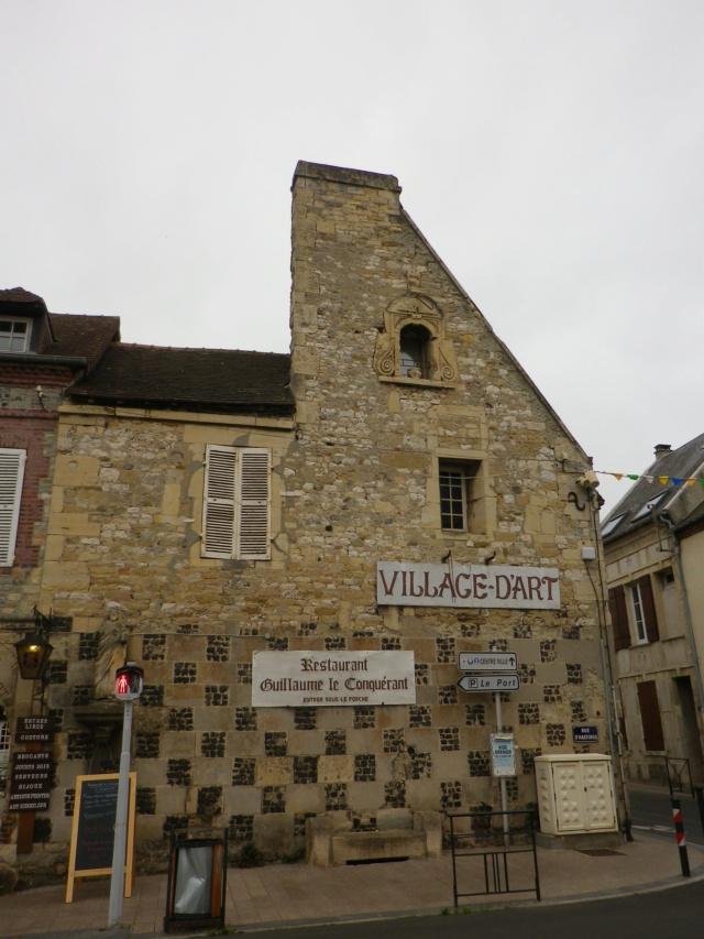 En Normandie,  Dives-sur-mer et la Maison Bleue Imgp3057