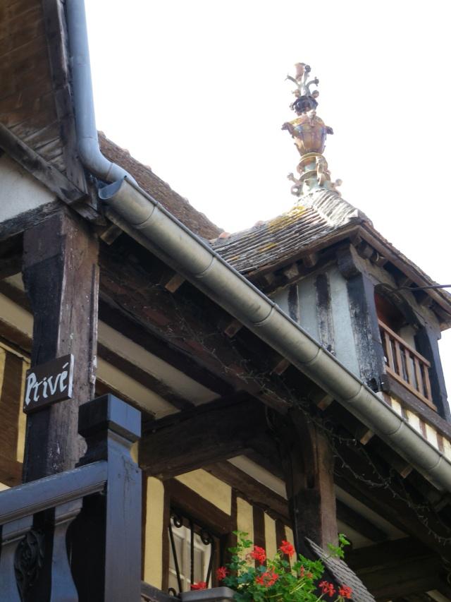 En Normandie,  Dives-sur-mer et la Maison Bleue Imgp3063
