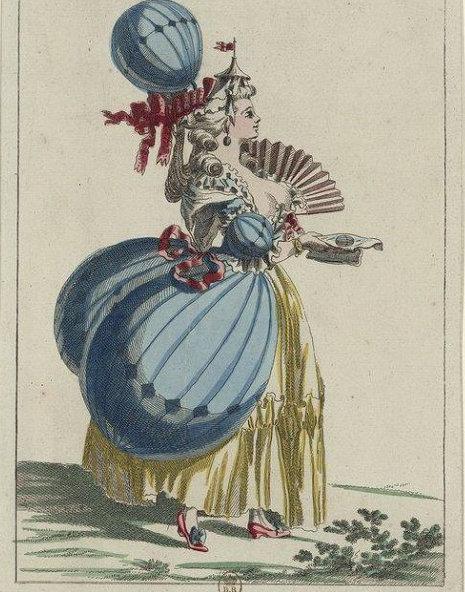 La conquête de l'espace au XVIIIe siècle, les premiers ballons et montgolfières !  - Page 8 La-coq10