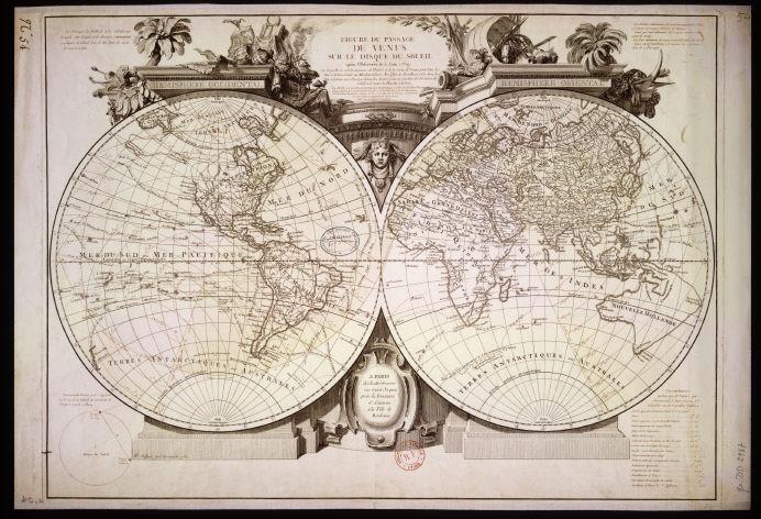 Le transit de Vénus,   en juin 1769 Laland10