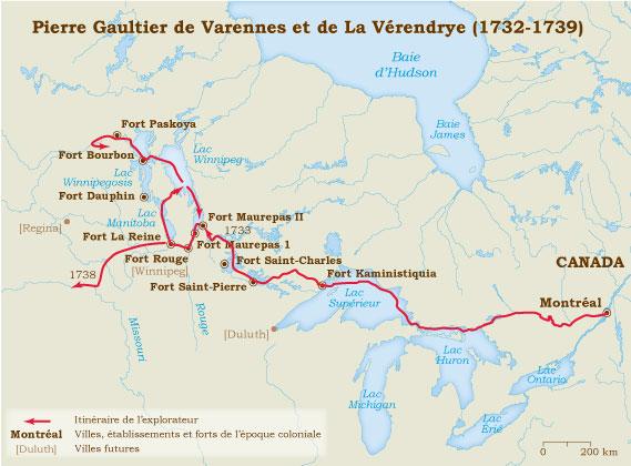 Explorateurs de la Nouvelle France, ces messieurs de la Vérendrye ... Lavere11