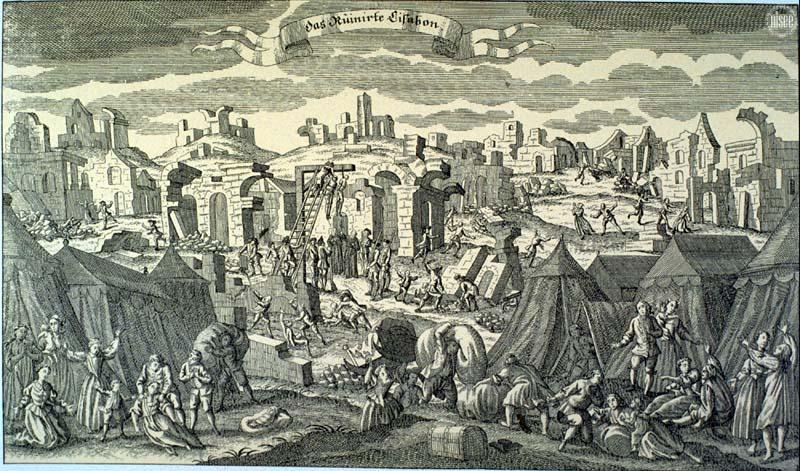 Le tremblement de terre de Lisbonne, 1755. Lisbon10
