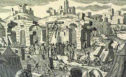 Le tremblement de terre de Lisbonne, 1755. Lisbon11