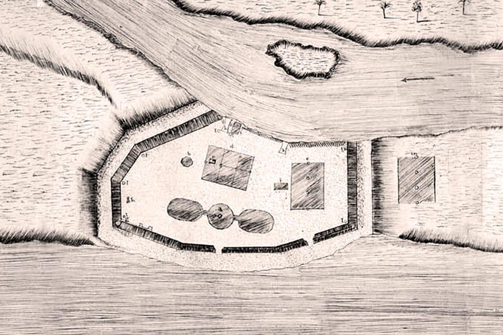 Le transit de Vénus,   en juin 1769 Mahina10