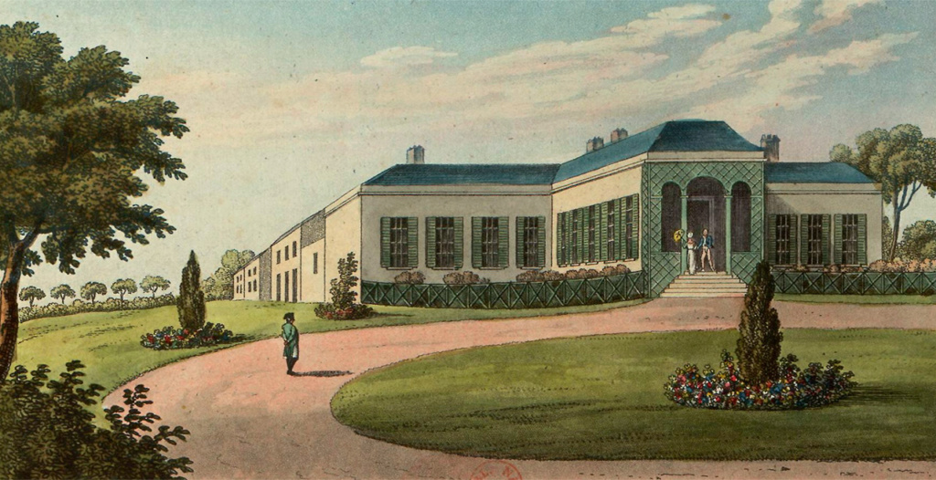 Hudson Lowe, Betsy Balcombe et Napoléon, à Sainte-Hélène Maison17