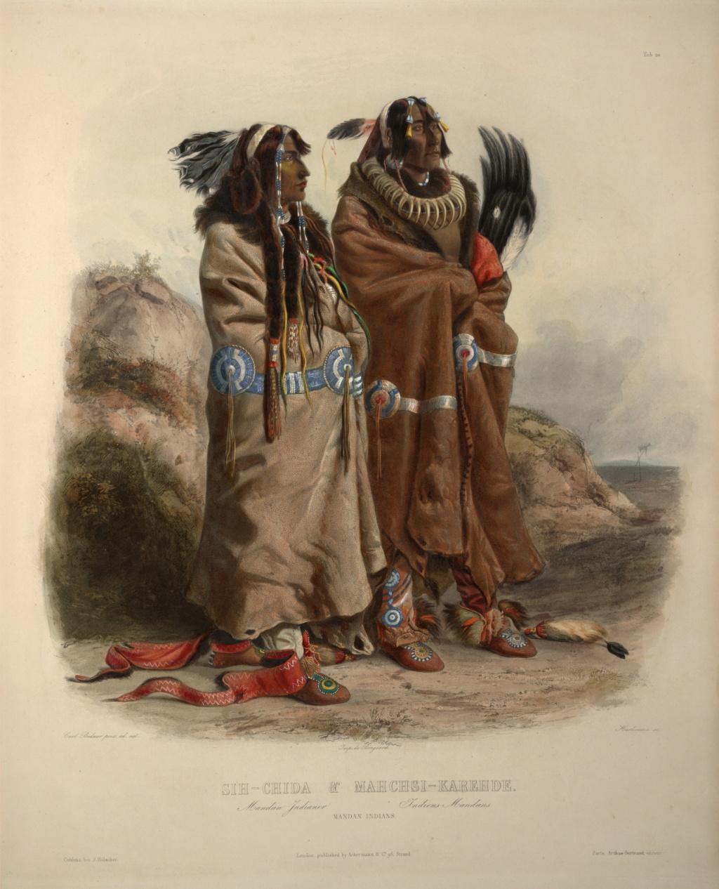 Explorateurs de la Nouvelle France, ces messieurs de la Vérendrye ... Mandan10
